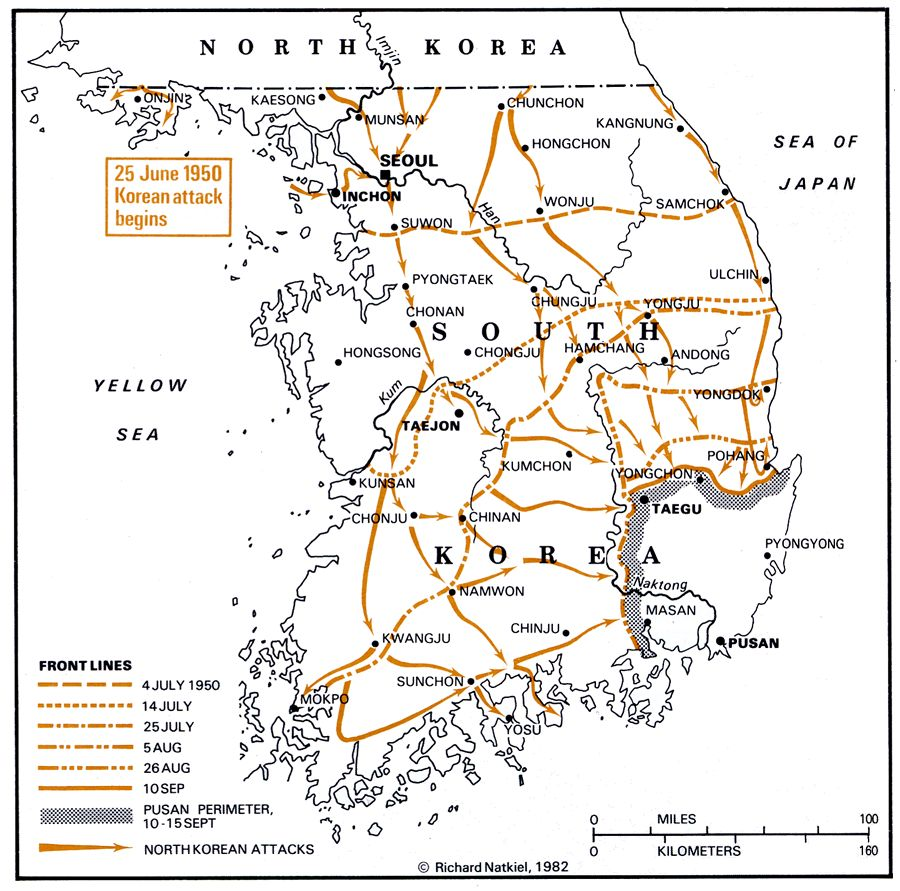 Korean War Timeline